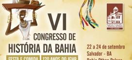VI Congresso De História Da Bahia