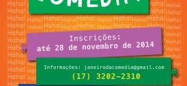 13o. Janeiro Brasileiro Da Comédia – S.J.Rio Preto (SP)