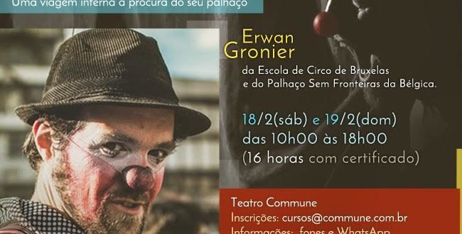 Oficina internacional de clown teatro commune sp for Oficina internacional de epizootias